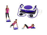 Kawachi Home Fitness Exerciser Aerobic Stepper, Twister, Push up K361