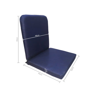 kawachi Right Angle Back Support Portable Relaxing Folding Yoga Meditation Chair