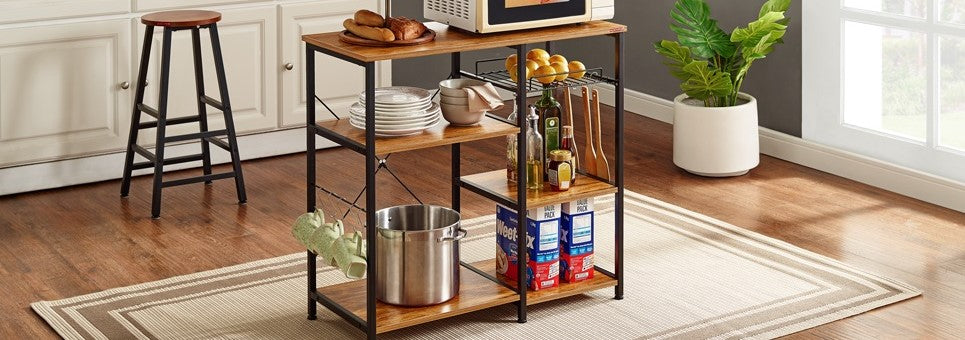 Kitchen Microwave Stand