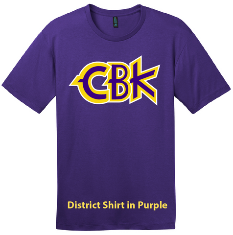 CBK Tee Shirt - District DT6000