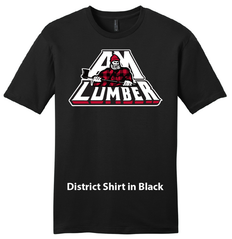AM Lumber Tee Shirt - District DT6000