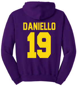 CBK Hoodie with Name & Number on back