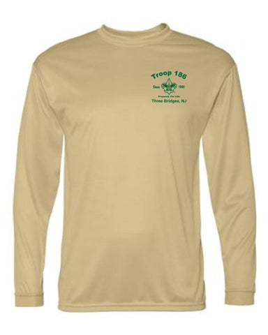 Troop186 Long Sleeve Dry Wicking Performance Shirt