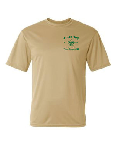 Troop186 Short Sleeve Dry Wicking Performance Shirt