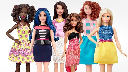 Barbie Gets Groundbreaking Makeover (Now She's Curvy! Or Petite! Or Tall!)
