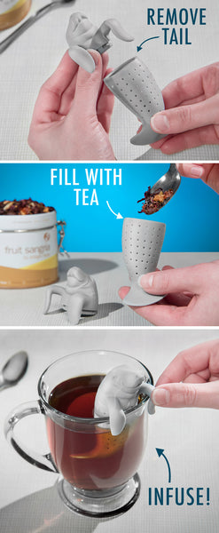 Manatea Sea Lion Tea Infuser - Mangopeople.biz