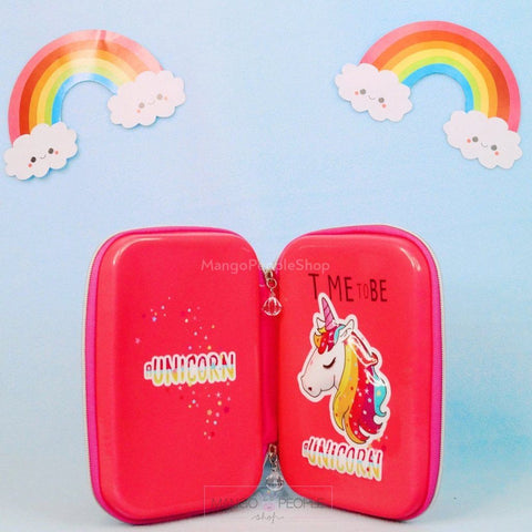 3D Unicorn Pink Stationery Multipurpose Organiser Organiser Mango People Local