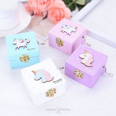 Pastel Unicorn Music Box