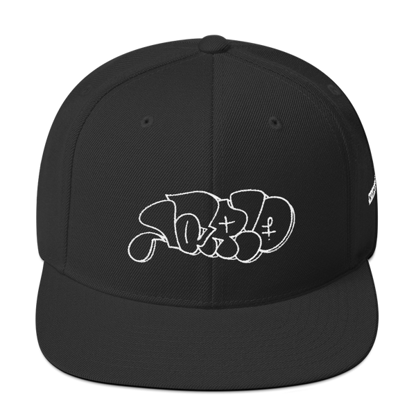 Lario Throwie by Nate Chandler—Snapback Hat, , King Lario King Lario