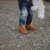 Harley Boots - Rust Suede