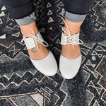 Mommy Boho Flat - White
