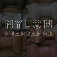 Bows - Nylon Headbands