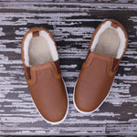 Fleece Lined MOMMY Slides - Weathered Brown