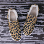 Fleece Lined MOMMY Slides - Leopard