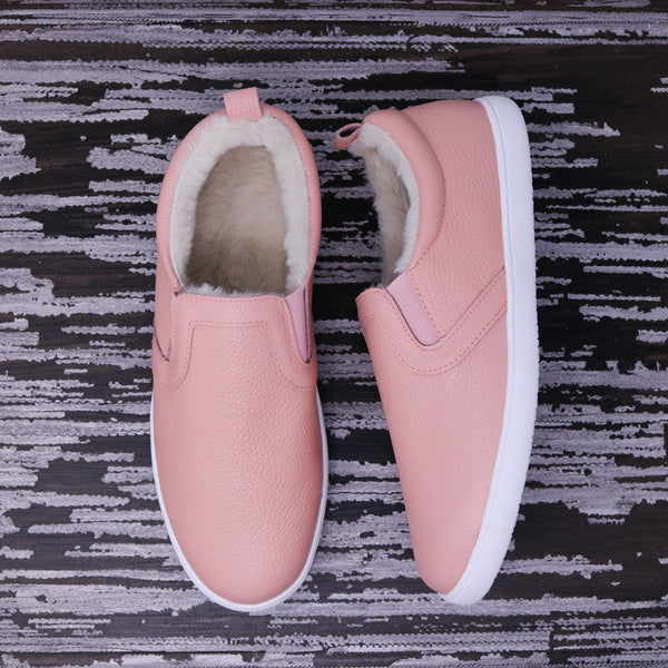 Fleece Lined MOMMY Slides - Pink