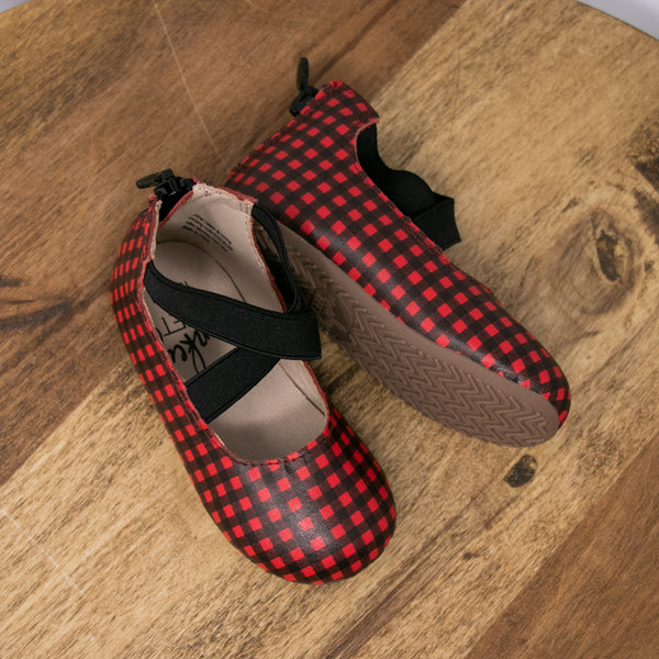 Buffalo Plaid - Ballet Flats