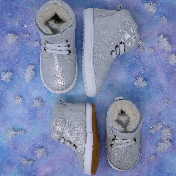Diamond Enchanted - Fleece Lined High Tops
