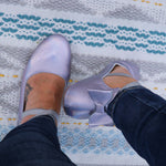 Holographic Metallic - MOMMY Ballet Flats