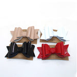 Patent Leather Bows - Alligator Clips