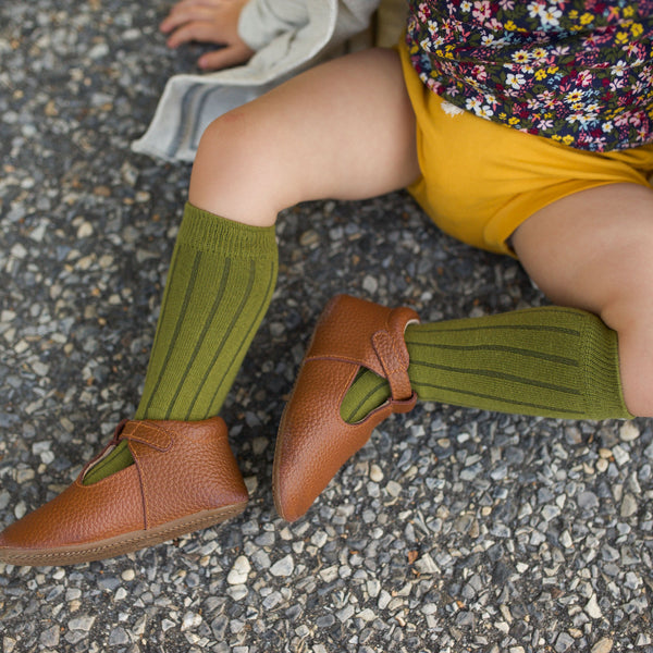 Knee Highs - Army Green