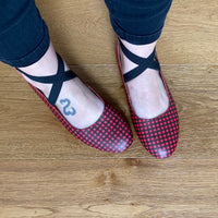 Mommy - Buffalo Plaid Ballet Flats