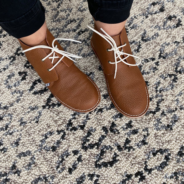 Mommy NEW Oxfords - Weathered Brown