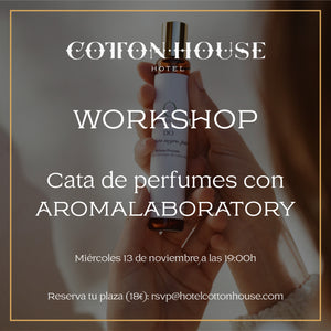 Workshop en Cotton House Hotel.