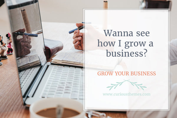 Wanna see how I grow a business?