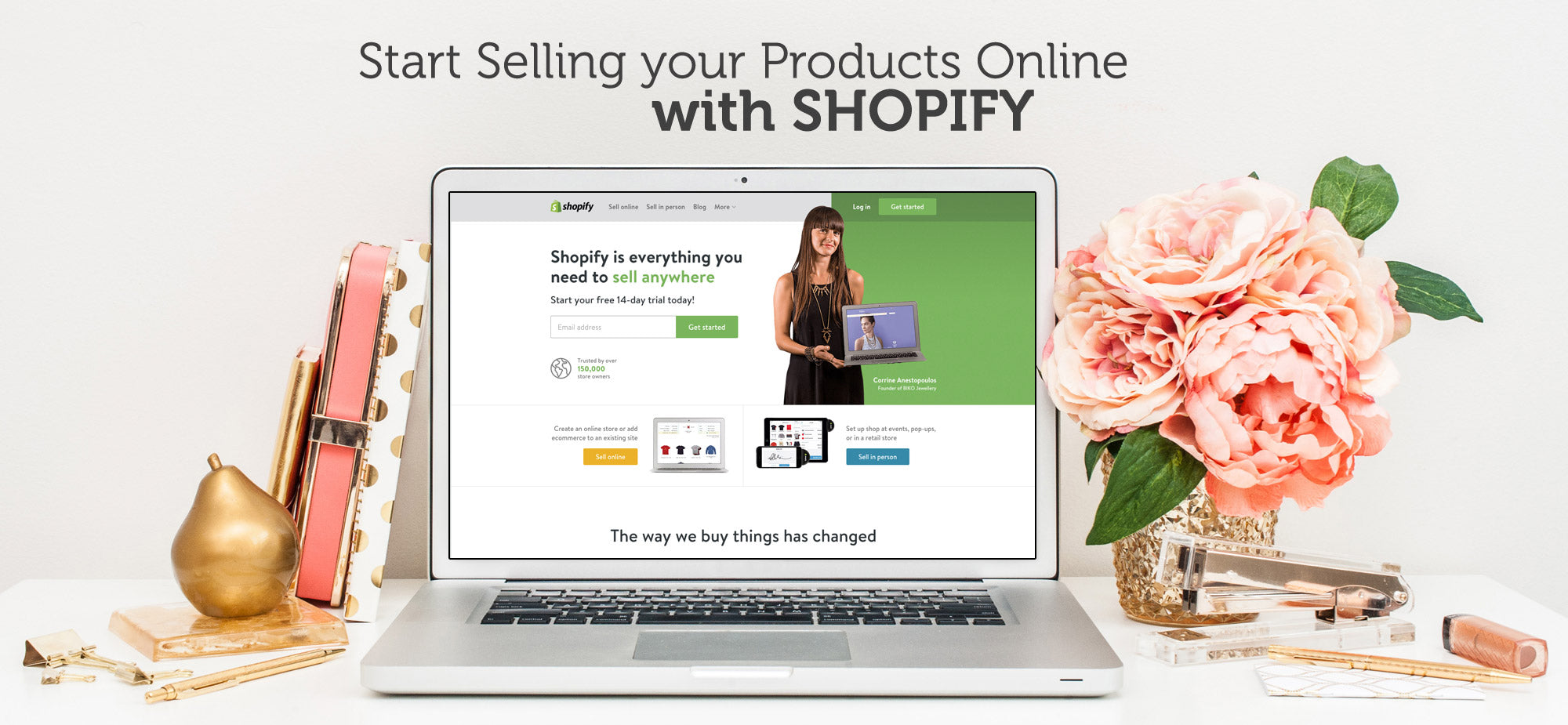 Start Selling Your Products Online with Shopify and Curious Themes