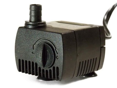 30-45 GPH pump aquarium and fountain pump with 2 ft tubing and 10' cord