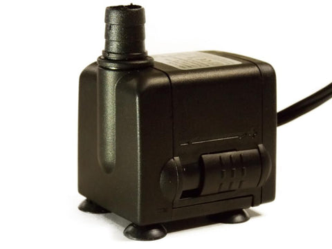 90-120 GPH aquarium and fountain pump with 2 ft tubing