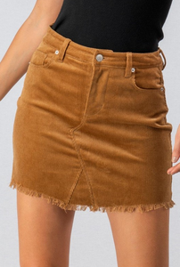 Our Little Secret Corduroy Skirt