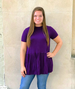 Southern Fling Top (Purple)