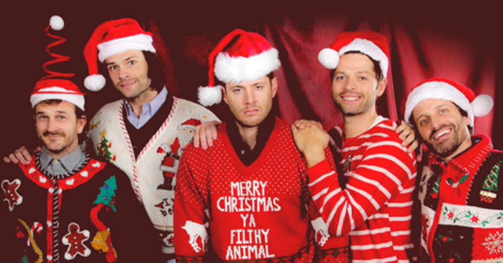 Christmas letter from Sam and Dean Winchester