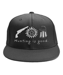 Hunting is good cap