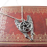 Jewerly - Angel Pentagram Amulet Necklace