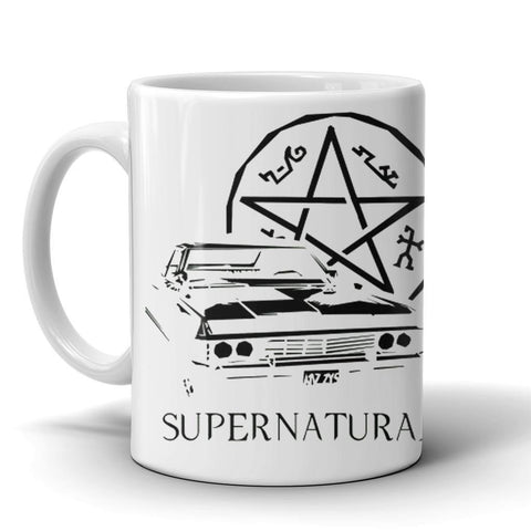 Mugs - The Impala & Pentagram Mug