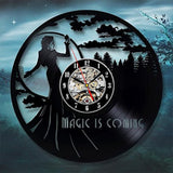 Once upon a time Vinyl Wall Clock