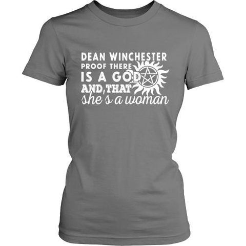 T-shirt - Dean Is Proof That God Is A Woman