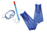 Kids Aqua Quest Mask-Snorkel-Fin Set