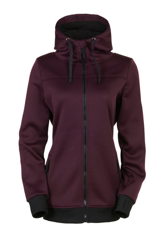 Ella Bonded Zip Fleece Hoody 16/17