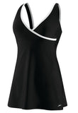 Contrast Swim Dress
