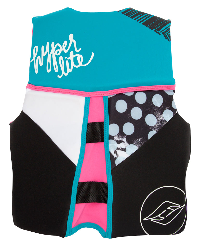 Girlz Youth Indy Neo Vest- Pink 16 thumbnail 2