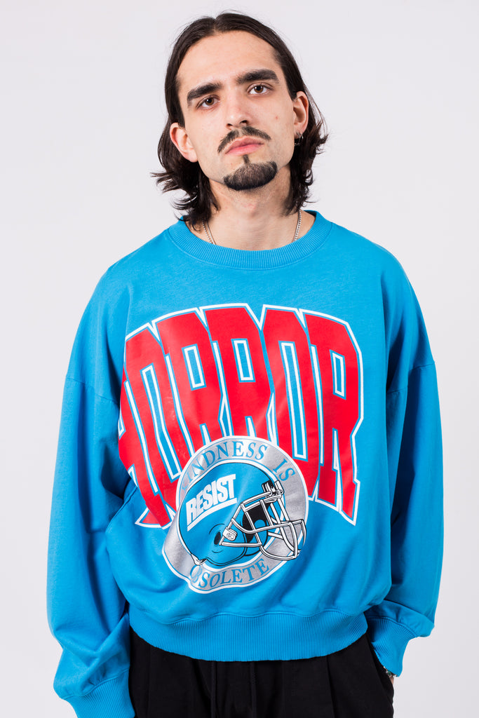 Barranco Sweatshirt Horror Print | Willy Chavarria | ACE/FIVE
