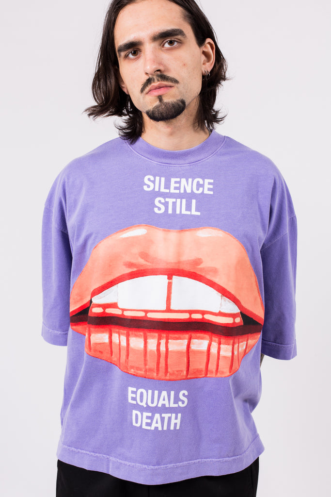 Buffalo T Lips Print | Willy Chavarria | ACE/FIVE