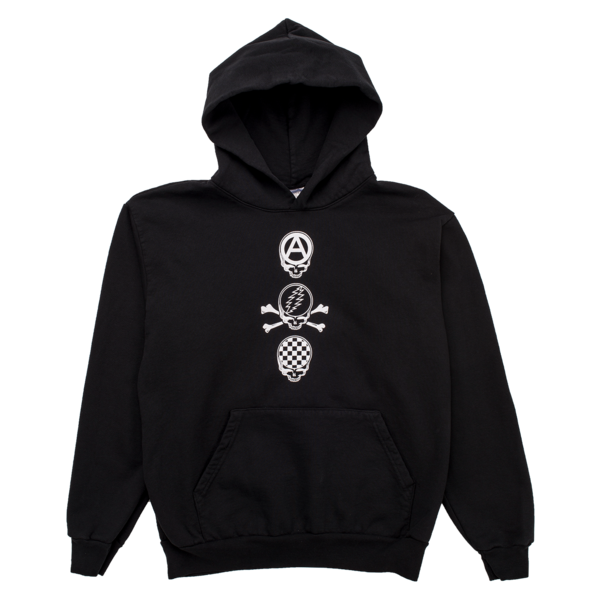 DEAD CREW Hoody | Grateful Dead x PLEASURES | ACE/FIVE