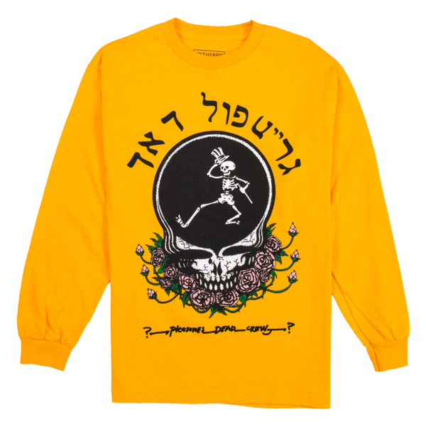 SKULL & ROSE Long Sleeve | Grateful Dead x PLEASURES | ACE/FIVE
