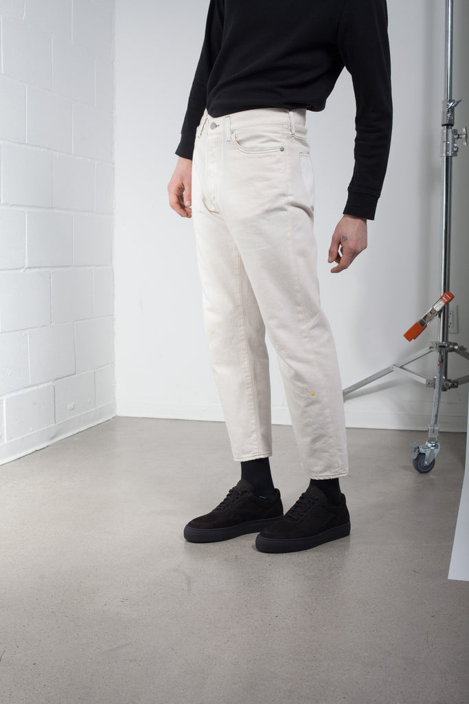 YMC Paint Flick Cropped Jeans SS16 | ACE/FIVE