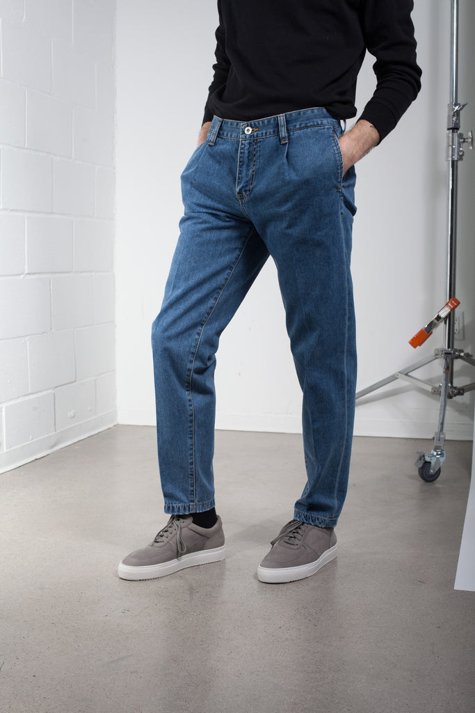 PLAC Washed Denim Pant SS16 | ACE/FIVE