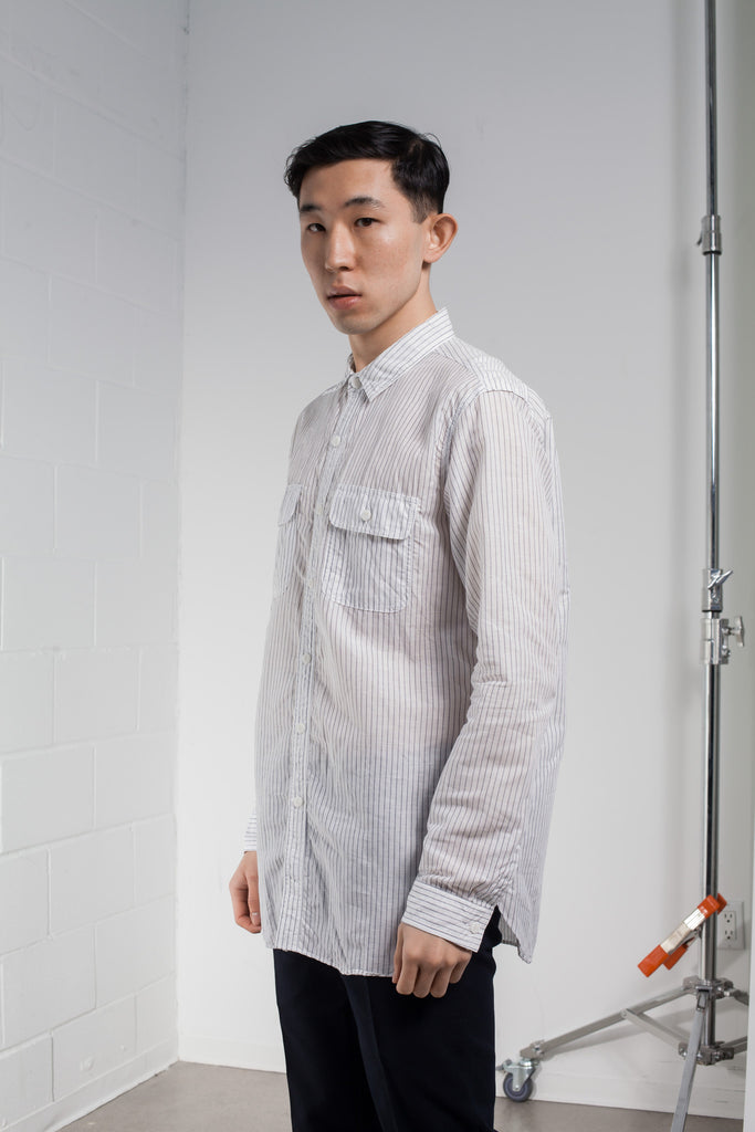 Ones Stroke Stripe Work Shirt SS16 | ACE/FIVE